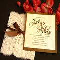 بطاقة دعوة الزفاف الفخمة تصميم بسيط