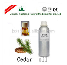High quality 100% Pure Cedar Wood Essential Oil by Steam Extraction