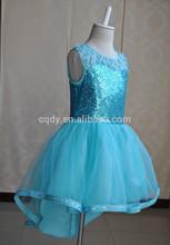 2015 New arrival wholesale Flower Girl frock/birthday dress for baby girl/Bling sequin princess dress