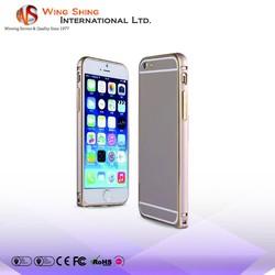 Solid bumper aluminum case for apple iphone 6 16gb, case for apple iphone 6 16gb, for apple iphone 6 16gb