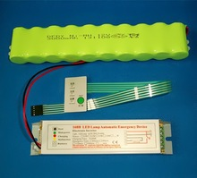 Emergency conversion kit with power pack for emergency led tube light