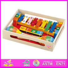 2015 New kids Wooden Xylophone,popular children Wooden Xylophone toy,hot sale Wooden Xylophone for baby in stock W07A005-A2