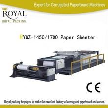 RYGZ Model Paper sheeter Machine for Cutting paper roll to sheet (2 roll )
