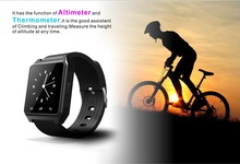 2014 Waterproof Bluetooth Smart Watch WristWatch Phone with Camera Touch Screen