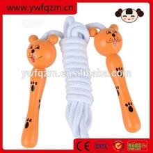Wholesale wooden animal handle speed jump rope