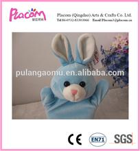 Bonito mini coelho de pelúcia fantoches de mão para crianças em Hot selling