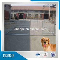 Outdoor Galvanized Iron Fence Dog Kennel