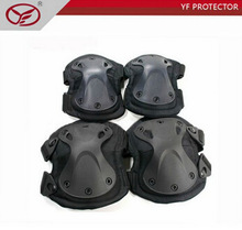 4pcs/set Recuse Tactical Extreme Sports Safety BMX SWAT X-type Protective Gear Elbow Support Knee Pads For rescue use