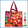 new design high quality silk-screen printing pp non woven shopping bag