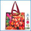 new design high quality silk-screen printing pp non woven shopping bag