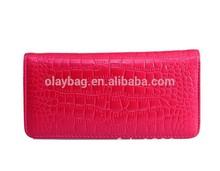 Wholesale New Fashion Split Leather Women's Purses/wallet