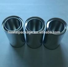 250ml single pressure lid cans,plain color, round shape
