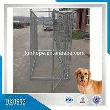 Galvanized Luxury Dog Kennel