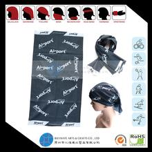 Custom funny multifunction headwear kerchief with logo