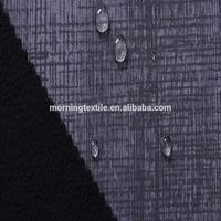 92%polyester 8%Spandex 4 ways spandex pepar printed fabric bonded polyester polar fleece fabric for sport garment fabric