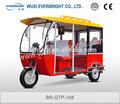 150cc motocicleta de três rodas gasolina / gasolina triciclo para passageiros made in china