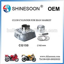 150CC 62mm Iran Motocycle Cylinder Kit CG150