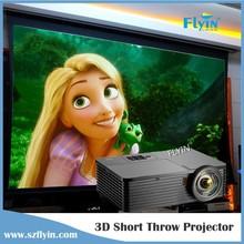Full HD Projector Education ,Business HD Beamer 3D 5000 Lumens 1080P Short Throw Projector