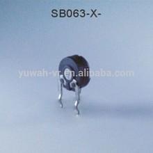 6mm carbon film semi-fixed variable resistor
