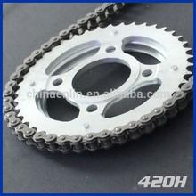 Cadena de la motocicleta 420 H