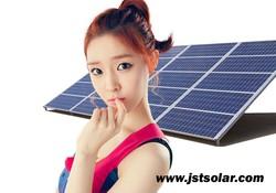 100W Polycrystalline solar panel for solar system or solar pump