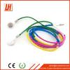 Best selling 3.5mm plug Jamboo braided earphone thread earphone for mobile phone