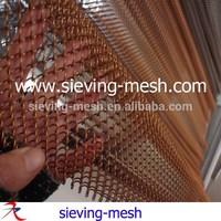 Colors Decorative Metal Curtains Mesh/chain Link Curtains