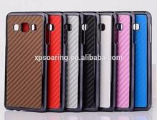 Fiber carbon case for Samsung Galaxy A3, for Galaxy A3 chrome carbon case, fashion cover for Samsung Galaxy A3