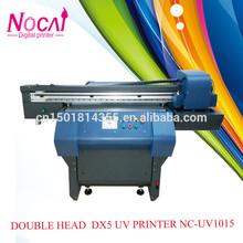 Large A1 Size double print head DX5 Wood/wooden board/wooden painting UV printing machine NC-UV1015/Impresora UV por madera gran