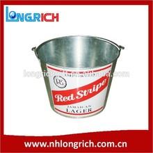 5L Metal Tin Ice Beer Bucket