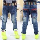 Kz-2219 wholesale fashion children autumn spring child clothes kids clothing boys Korean latest new sexy skinny trousers jeans