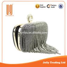 new design fancy swarovski crystal clutch bag elegant women's bag lady bag