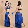 Danza del vientre egipcia traje de venta al por mayor de la danza del vientre trajes ropa de danza gt- 1037#