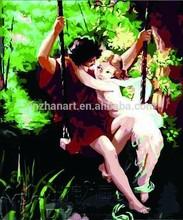 Swing DIY Number Painting