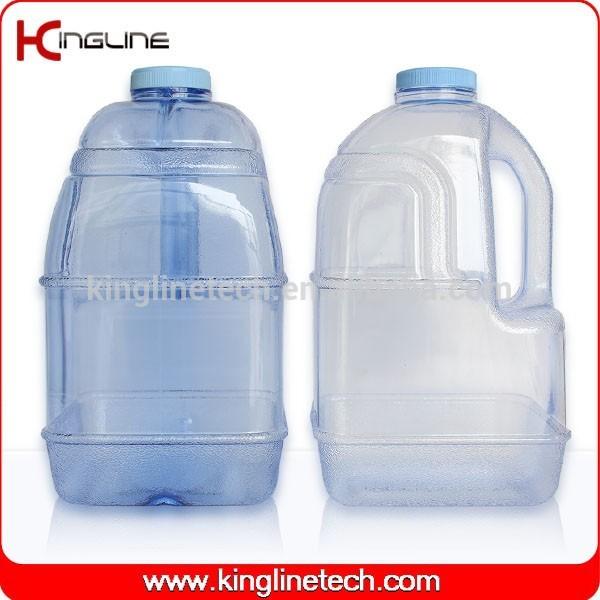 Oem de alta qualidade tritan 1 galão plástico jarro refeitório OEM com alça ( KL-8001 )