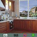 preço de fábrica de madeira de pinho de móveis de cozinha para o projeto do cliente