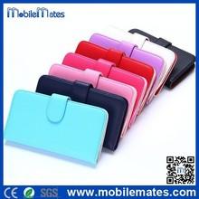 Lichee Pattern Card Slots Style Flip Stand PC + PU Leather Case Flip Cover for Motorola Moto G2 XT1063 / XT1068 / XT1069