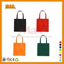 2015 Eco-friendly Non Woven Tote Bag Customized Assorted Colors Cheap Non Woven Bag Blank