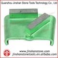 Jinshan htc pulido almohadillas para htc de la máquina, la molienda de cemento, terrazo, superficie de la piedra