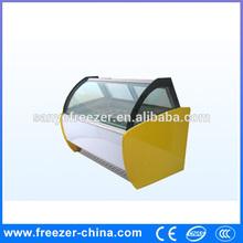 Customize ice cream / gelato display case manufacturer in china