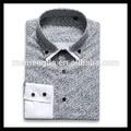 Atacado hot china produtos de moda de nova homens camisa gola dupla máquina de botão