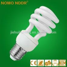 Factory Price 15W CFL E27 Spiral Energy Saving Bulb