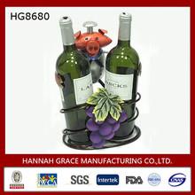 Metal Pig 2 Pack Wine Bottle Carrier