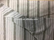 Yarn dyed colorful stipe single jersey
