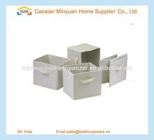 top sales Set of 4 Foldable Fabric box storage