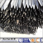 Australia Market black bitumen painted steel black high quality Y fence post galvanized cast iron pickets