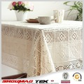 Algodão crochet lace toalha de mesa