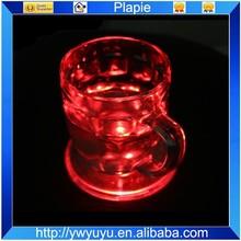 Popular for Pub Flashing Coaster Round Shaped Bright Led Light Coaster