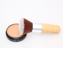 High quality large fan powder brush for girls and women