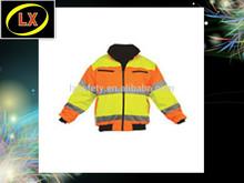 Hi Vis Safety Reflective Motorcycle Jacket